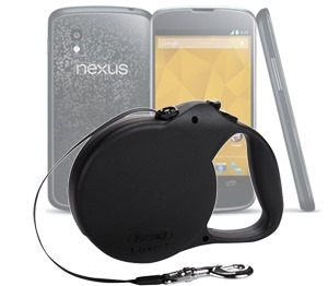 Google-Nexus-4 & Dog Leash