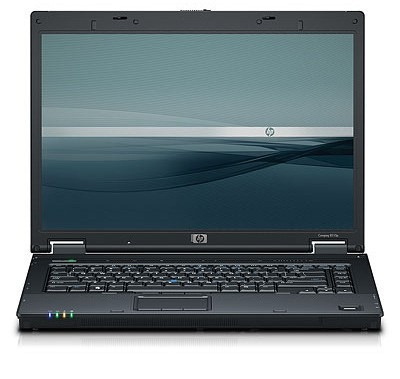 HP 8510W Front