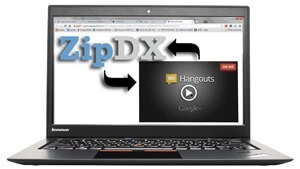 Interconnecting A Google Hangout & ZipDX