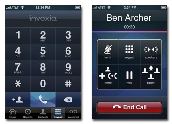 Invoxia-App-Screens