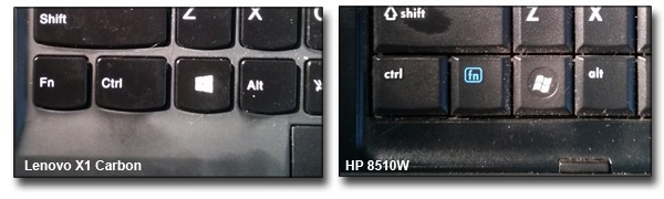 Lenovo-vs-HP-Key-Layouts