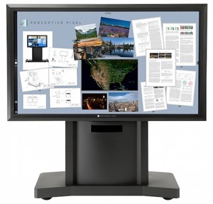 Perceptive Pixel 82 inch touch display