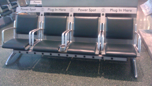 Powered Seating At Knoxville Airport