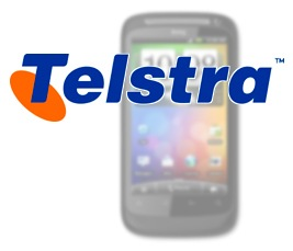 Telstra-Logo & HTC Desire S
